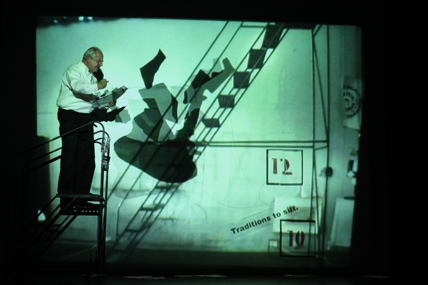William Kentridge - I Am Not Me, the Horse Is Not Mine, a Performa Premiere, 2009