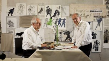William Kentridge from Triumphs and Laments