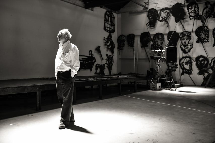 William Kentridge from a film work titled More Sweetly Play The Dance 1