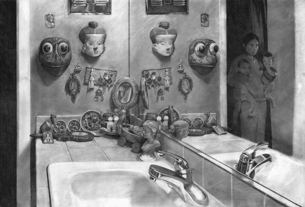 William Klose-Carmen's Bathroom-2008