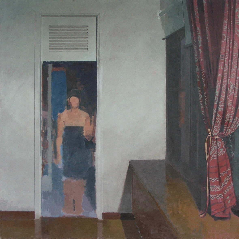 William Klose-Curtain and Figure-2012