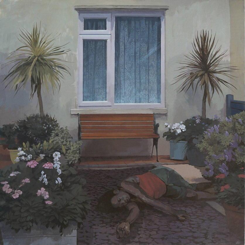 William Klose-Patio Garden-2014