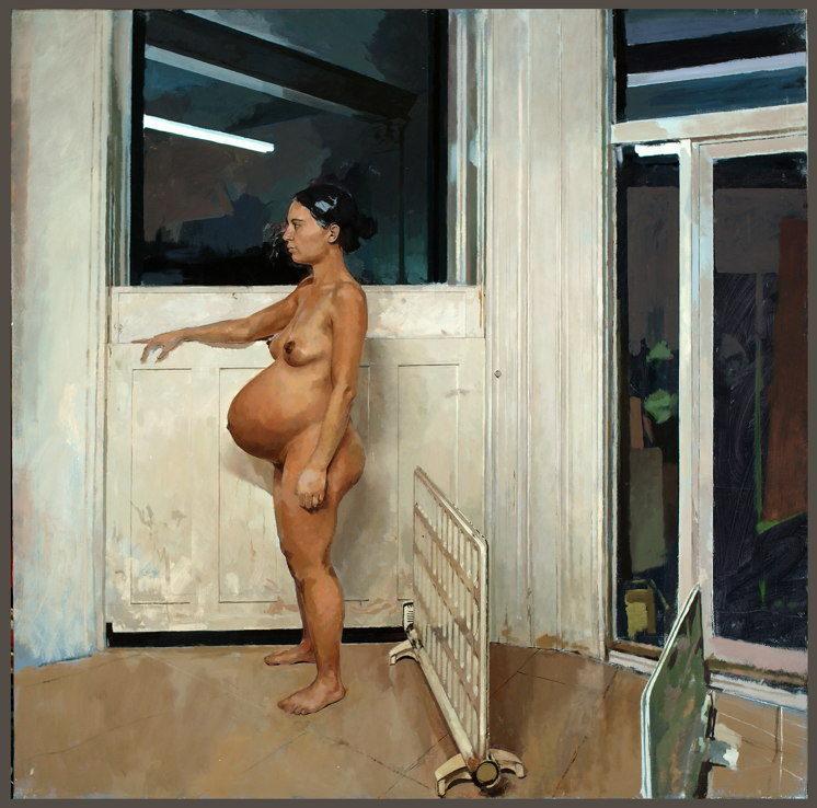 William Klose-Winter Pregnancy-2007