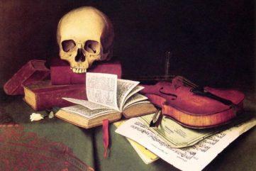 William Michael Harnett - Mortality and Immortality