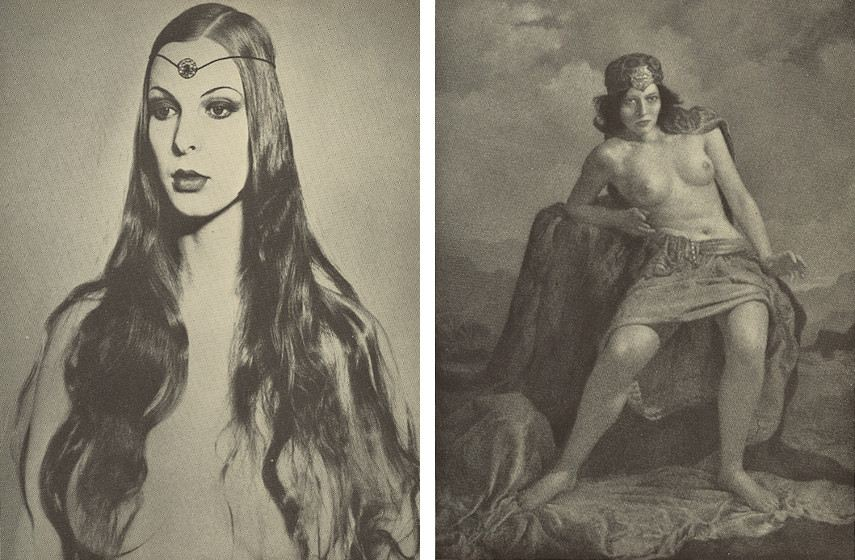 Mortensen - Circe (left), The Priestess (right)