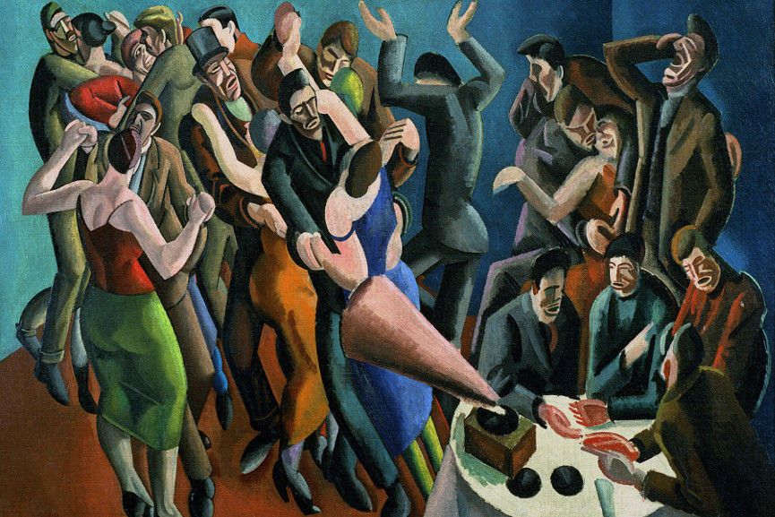 William Roberts - The Dance Club (The Jazz Party) 1923