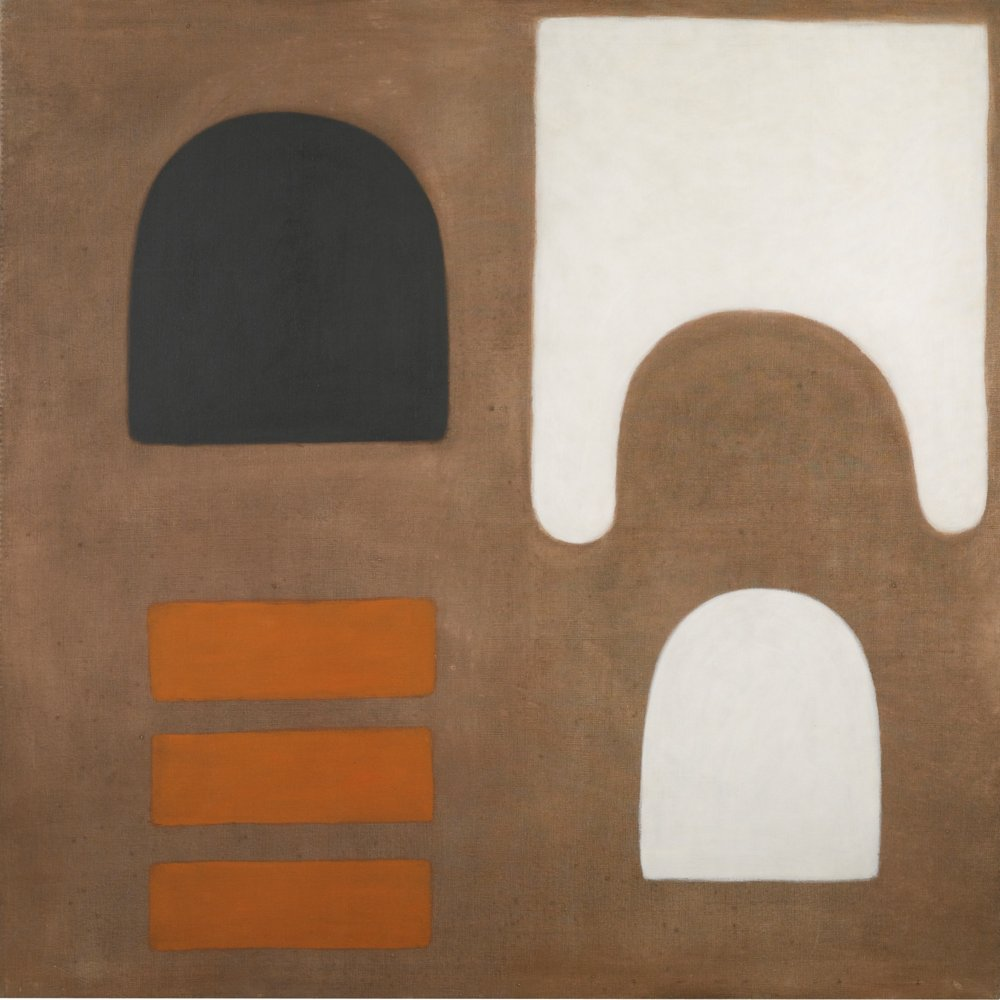 William Scott-Orange-1965