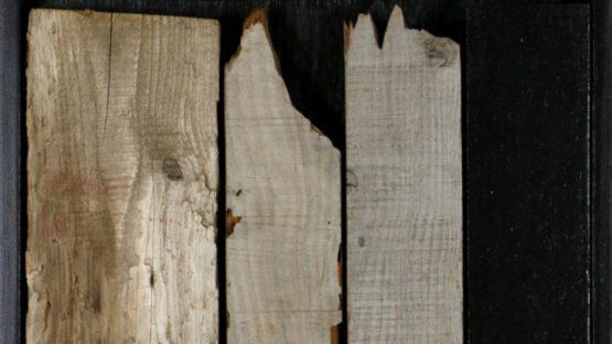 William Turtle - Scrap Wood Painting 3, ca 2000 (detail)