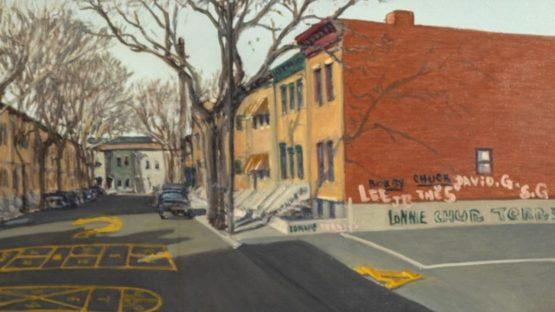 William Waithe - Newark Street, ca 1980 (detail)