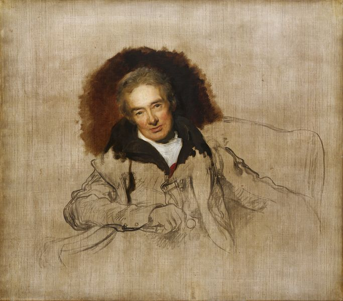William Wilberforce by Sir Thomas Lawrence 1828. © National Portrait Gallery, London