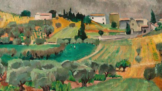 Willy Eisenschitz (Austrian-French, 1889 - 1974) Paysage du Midi