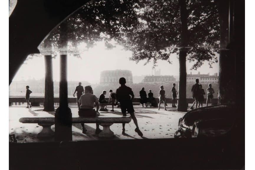 Willy Ronis - Quai de Rhone, Lyon, 1955