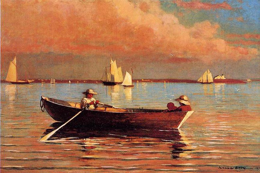 Winslow Homer Most Famous Fishing Paintings
