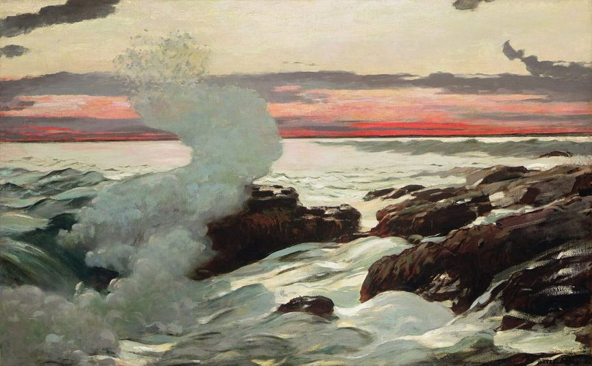 Winslow Homer West Point, Prout's Neck