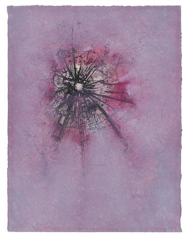 Wols-Untitled (Eclipse rouge)-1946