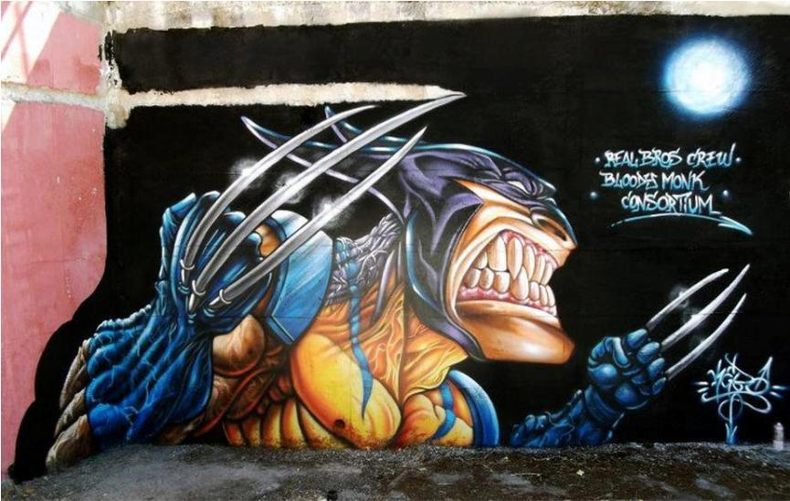 Wolverine by Real Bros Crew