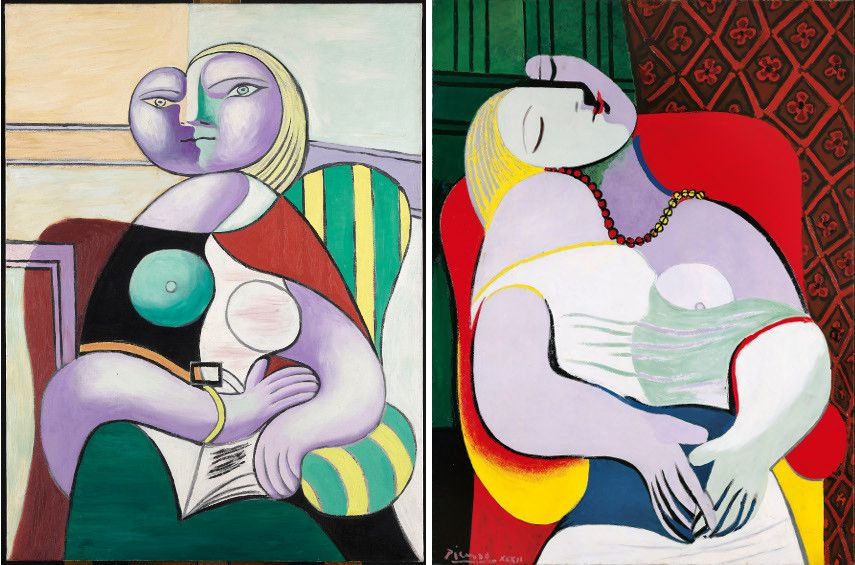 Woman Reading (MP137) Pablo Picasso / The Dream (private collection) Pablo Picasso