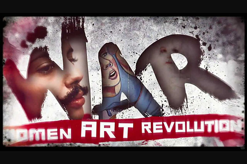 !Women Art Revolution 2011