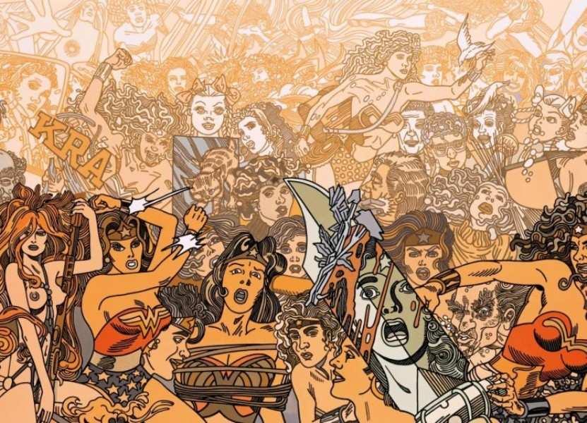 Erró: American Comics