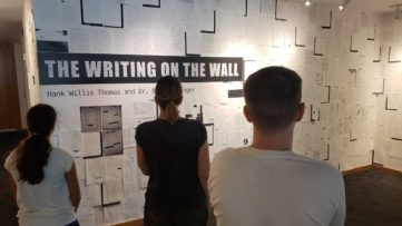 Writing on The Wall - Installation view