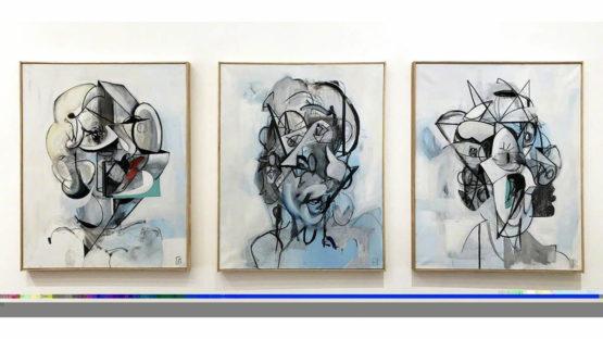 Wyatt Mills - Face Studies, 2018
