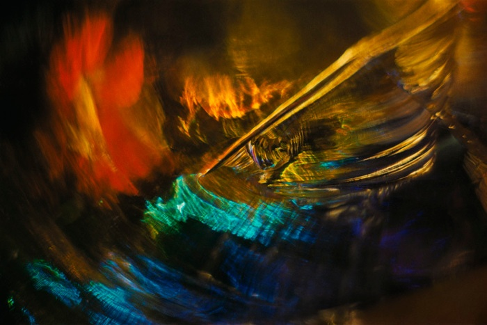 Wynn Bullock - Color Light Abstraction, 1960