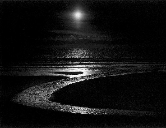 Wynn Bullock - Let There Be Light, 1954, black and white