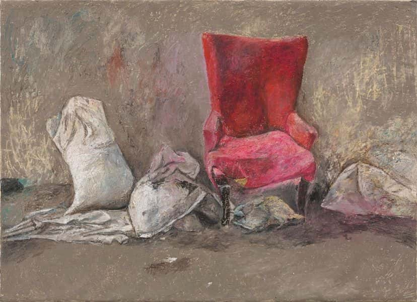 Xi Danni - Red Sofa