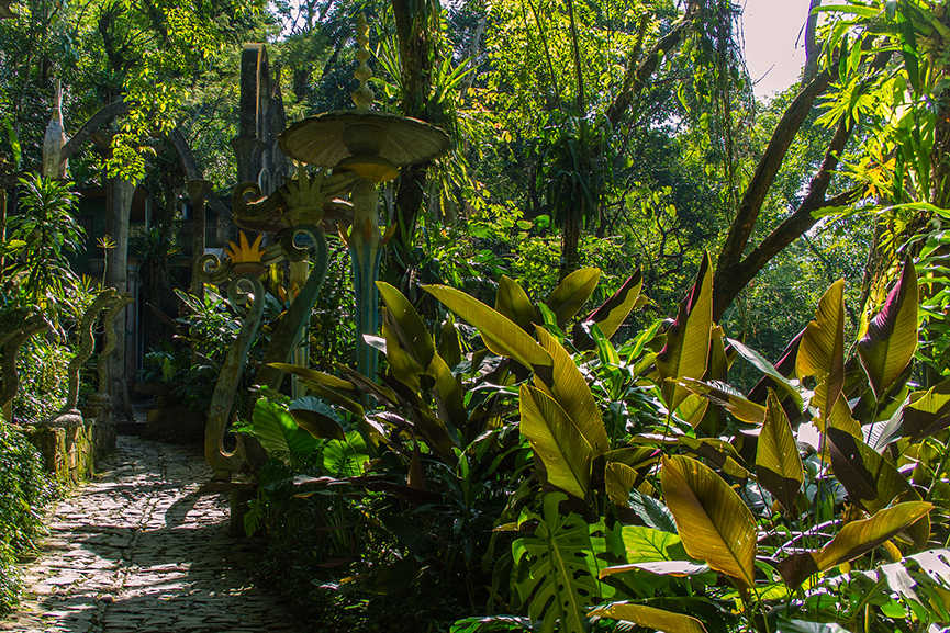 Xilitla, Las Pozas, the garden created by the Surrealist Edward James