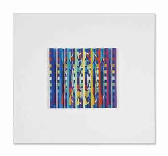 Yaacov Agam-Composition (Rythme vertical)-2005