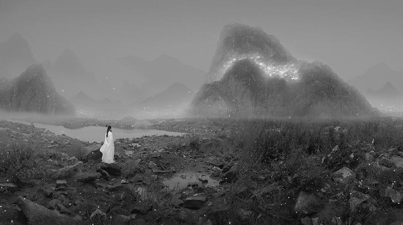 Yang Yongliang - A Crocodile and Shotgun - Silent Valley series, 2012 2013