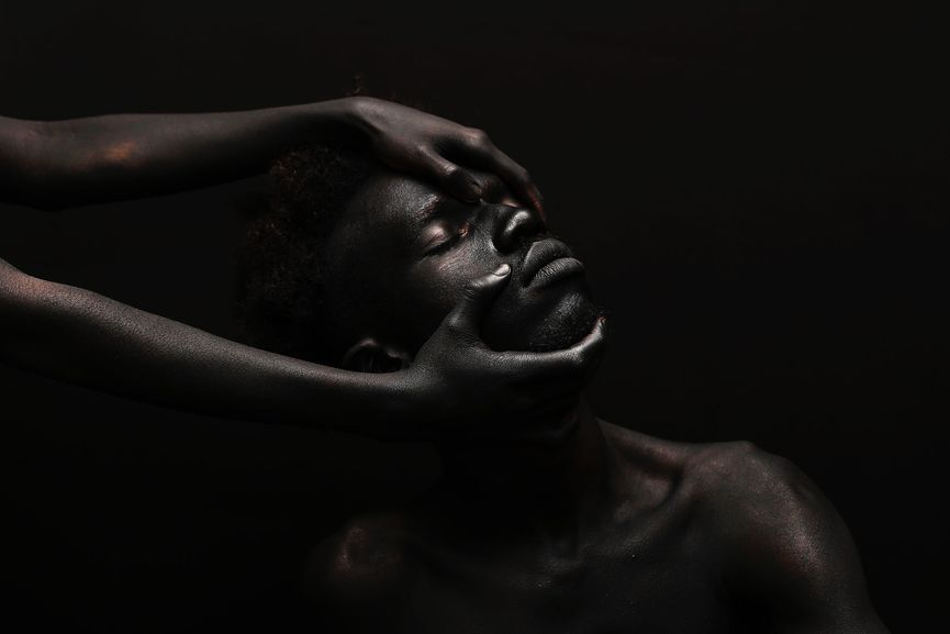Yannis Davy Guibinga - The Darkest Color III, 2017