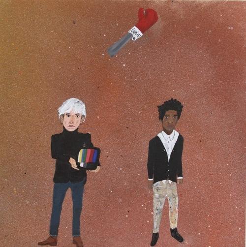 yarrowslaps Andy Warhol, Basquiat