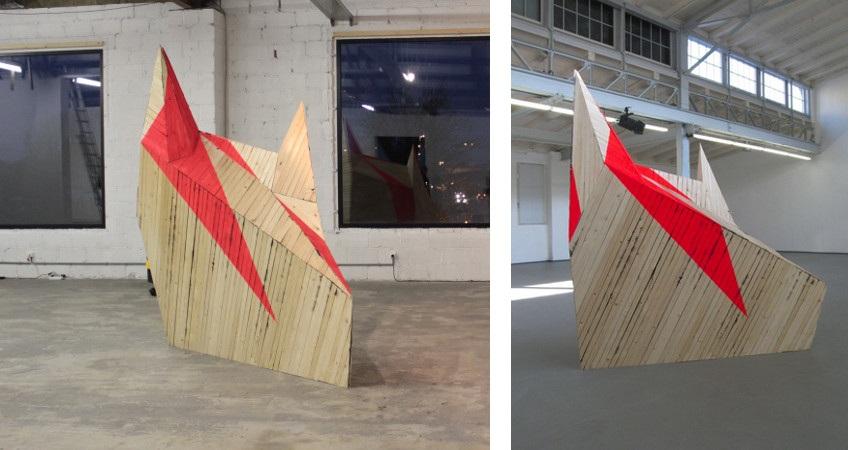 Yasmin Alt - Bringing the dawn, 2011, installation view