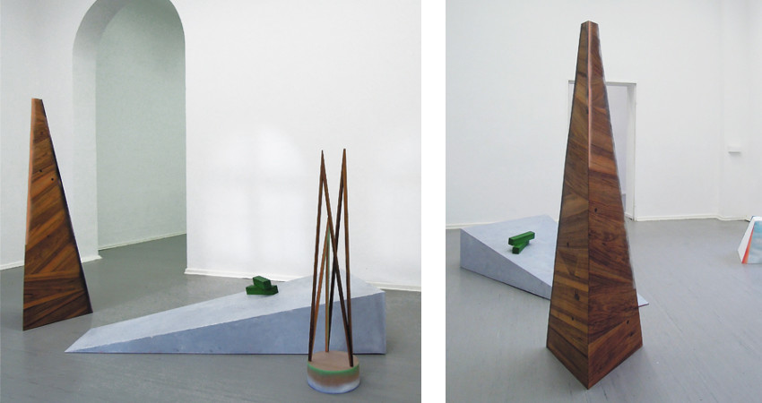 Yasmin Alt - Polyvalenz, exhibition at Projektraum Bethanien, 2015, installation view