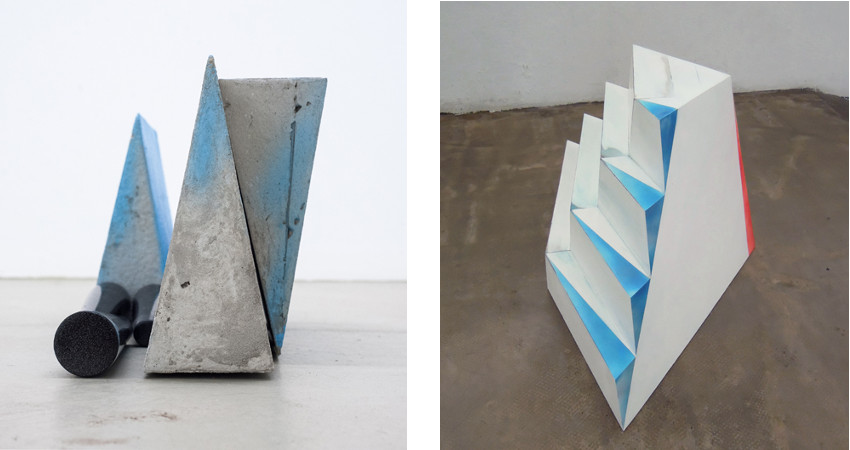 Yasmin Alt - Tomb, 2013 (Left) / Step by Step, 2014 (Right)