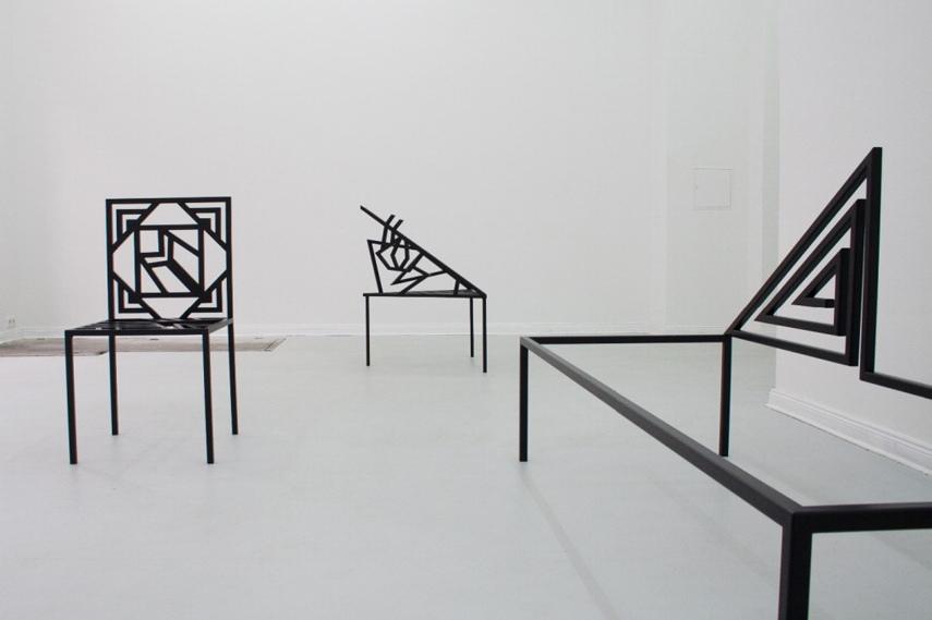 Berlin artist at Maria Stenfors gallery, London