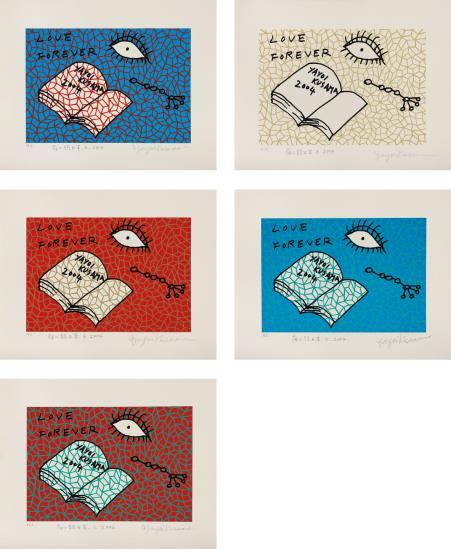 Yayoi Kusama-Book to Read at Night A-E-2004