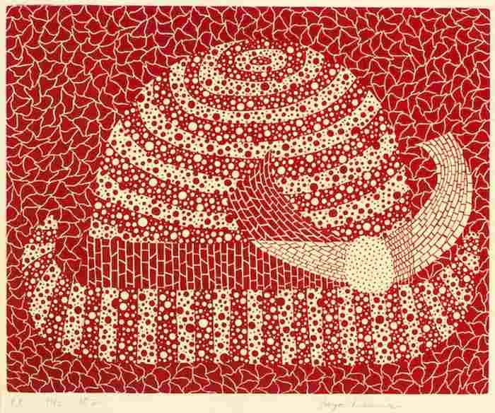 Yayoi Kusama-Hat-1982