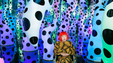 Yayoi Kusama LOVE IS CALLING David Zwirner New York2013