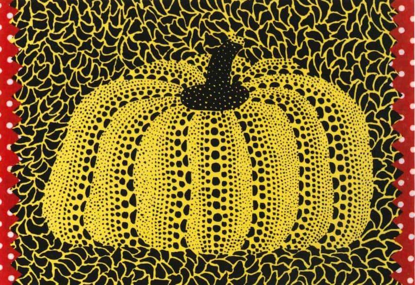 Yayoi Kusama - Pumpkin, Gallery Edel at Art Santa Fe