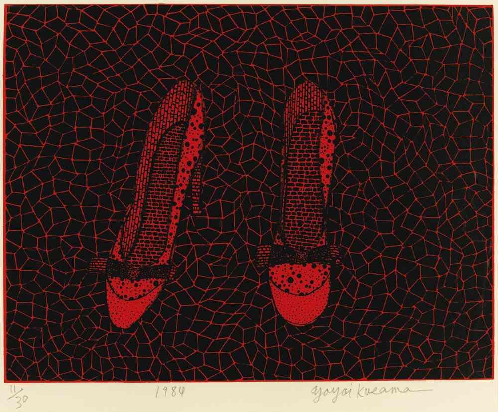 Yayoi Kusama-Shoes-1984