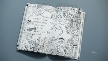 Yayoi Kusama - The Little Mermaid book illustration