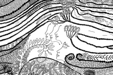 Yayoi Kusama's Illustration for The Little Mermaid