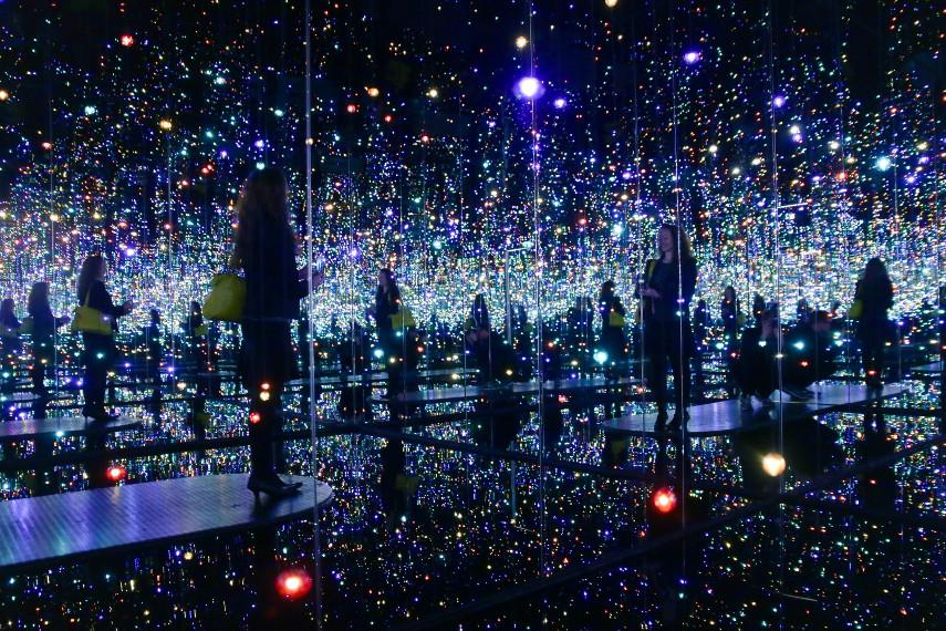 Yayoi Kusama - Infinity Mirrors, use the privacy terms in time to get the news you need