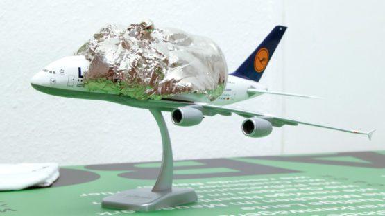 Yngve Holen - Plane - Image via contemporaryartdaily