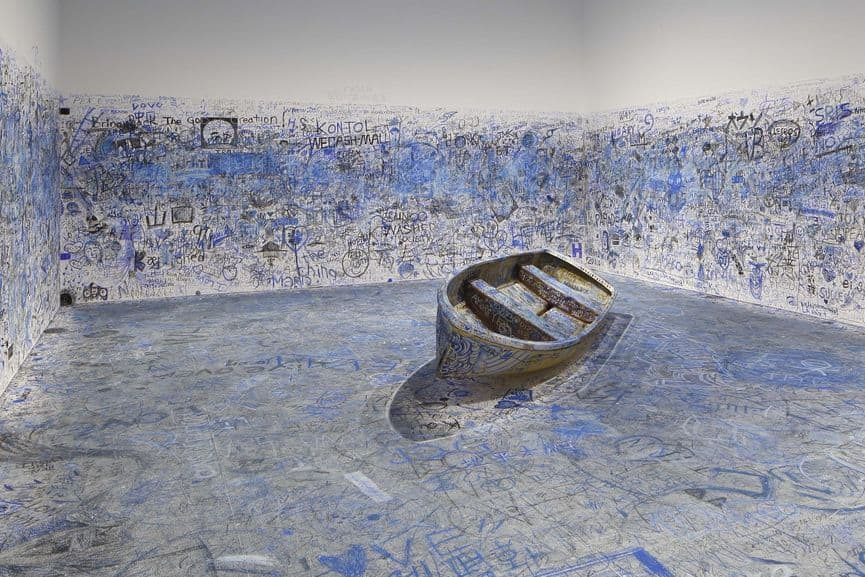 Yoko Ono - Add Color Painting (Refugee Boat), 1960 / 2016-2018