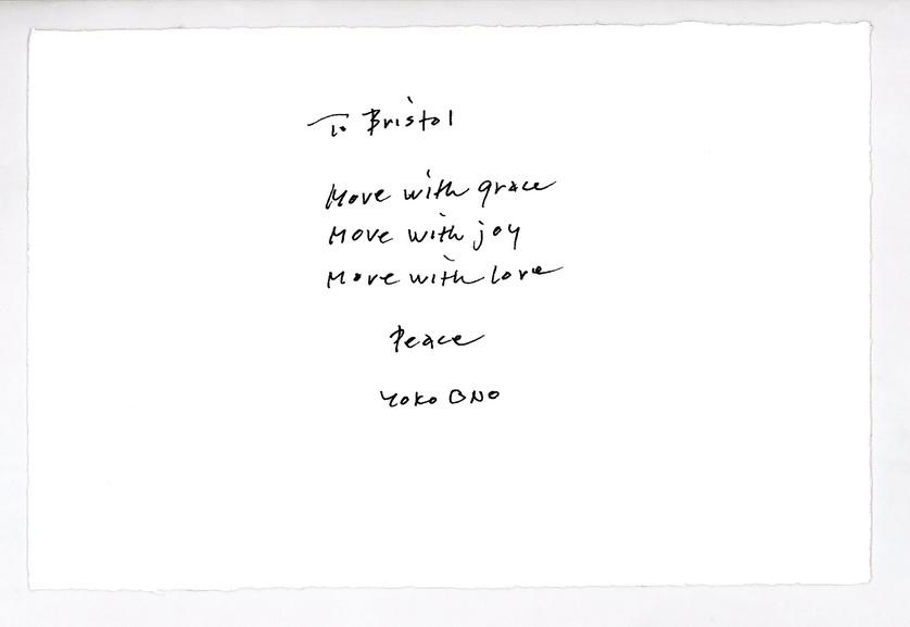 Yoko Ono - Peace Message to Bristol
