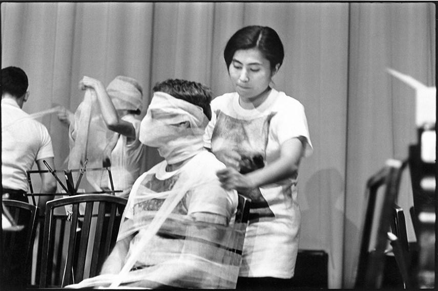 1964 exhibitions Yoko Ono - Sky Piece to Jesus Christ, 1965