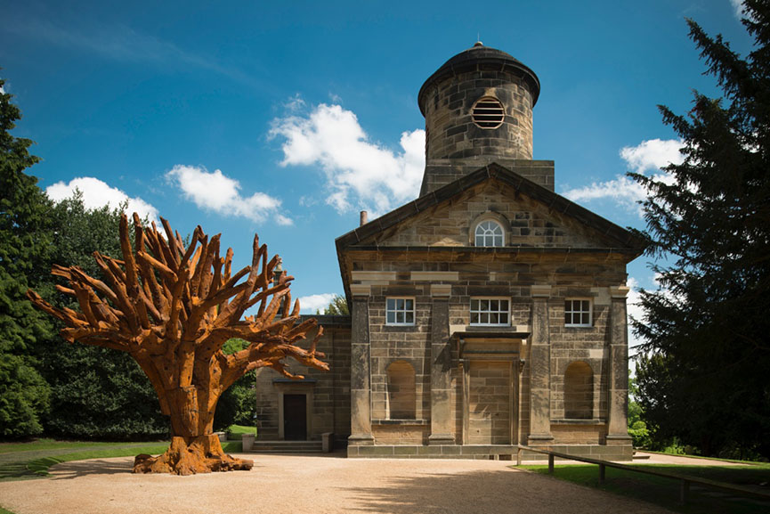 Yorkshire Sculpture Park, Ai Weiwei, Iron Tree